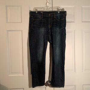 Gap Sexy Boyfriend City Blue Denim Jeans in 32